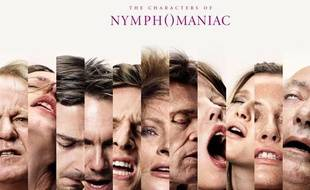 Capture d'écran du site du film «Nymphomaniac».