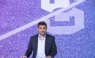 Matthieu Lartot sur le plateau de «Stade 2».