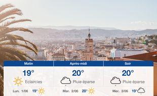 Météo Nice: Prévisions du dimanche 31 mai 2020