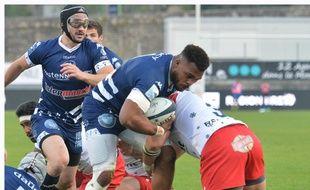 Le RC Vannes s'était imposé 25-9 contre Aurillac, le 12 avril dernier.