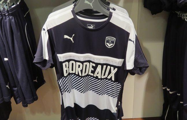 Depuis la rentrée, les ventes de maillots des Girondins ont augmenté.