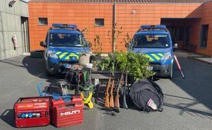 Des armes et de la drogue ont été saisis par les gendarmes à Surgères la 10 septembre dernier.