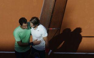 Nadal et Federer se sont affrontés sur terre pour la dernière fois en 2013