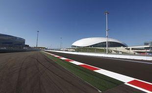 Le 9 octobre, avant le Grand Prix de Sotchi, en Russie.