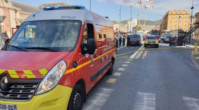 Le quartier de la gare bouclé à Nice après un incendie dans un immeuble