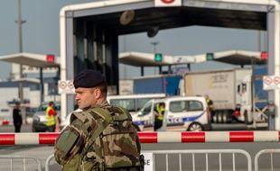 Sur le port de Calais, le 21 septembre