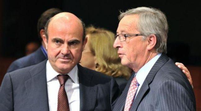 Les ministres des Finances de la zone euro ont réussi dans la nuit de lundi à mardi à mettre au point un plan d'aide à l'Espagne qui devrait se traduire dès la fin du mois par un versement de 30 milliards d'euros à Madrid. – Georges Gobet afp.com