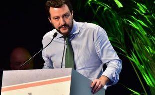 Matteo Salvini est le responsable du parti d'extrême droite La Ligue du Nord.