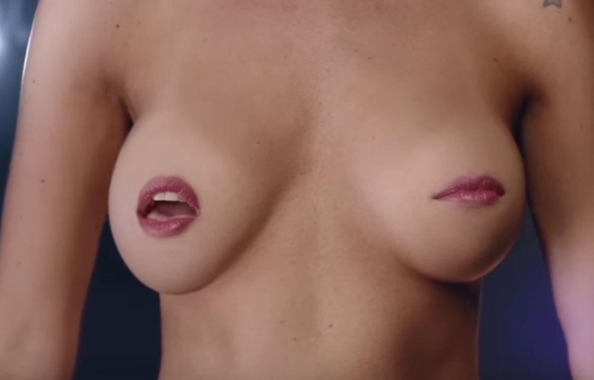 Pour contourner la censure appliquée sur les réseaux sociaux, même lorsqu'il s'agit de parler du cancer du sein, une association argentine a imaginé une vidéo montrant des seins en train d'entonner une chanson.  – Capture d'écran / YouTube