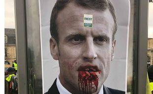 A Bordeaux, une campagne d'affichage à base de photomontages était visible ce week-end.
