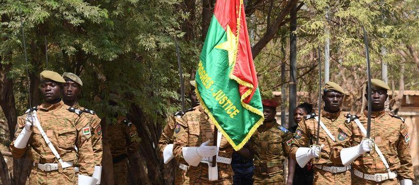 Des forces militaires du Burkina Faso à Ouagadougou, le 2 mars 2019 (illustration).