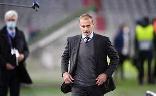 Alexander Ceferin, le président de l'UEFA, le 7 avril 2021.