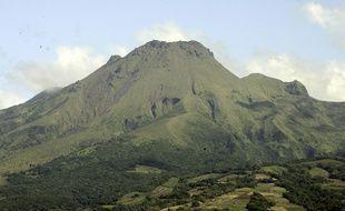 Le volcan de la Montagne pelée, en Martinique.