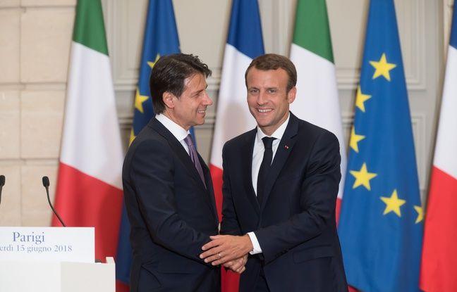 Relations franco-italiennes: Emmanuel Macron en visite à Rome pour tenter de tourner la page Salvini