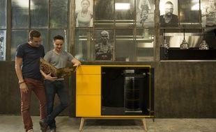 Guillaume Bertrand et Matthieu Defoly, co-concepteurs du Jukebox moderne.