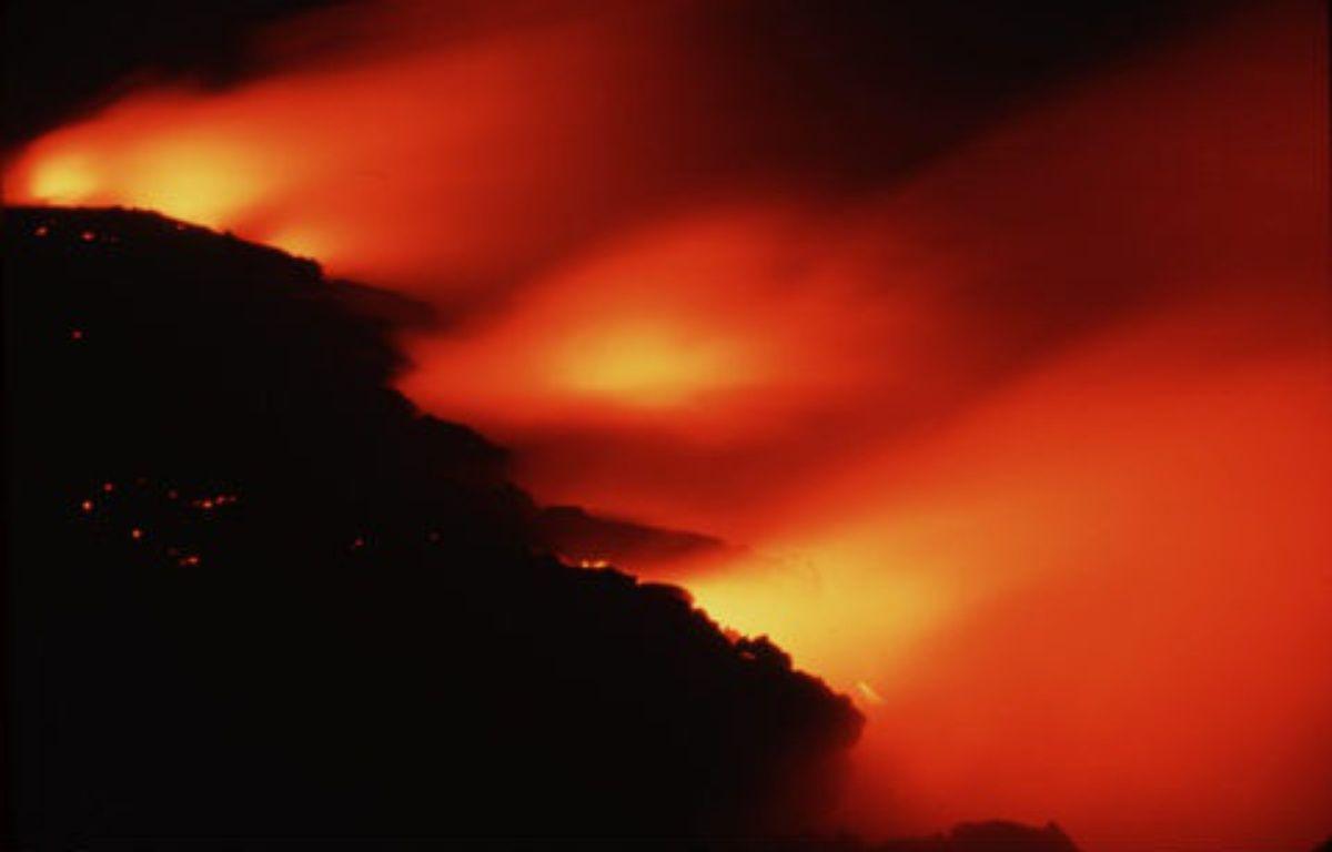 Le volcan Kilauea, à Hawaï. –  NEWMAN MARK/SIPA