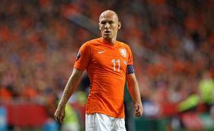 Robben sous le maillot des Pays-Bas