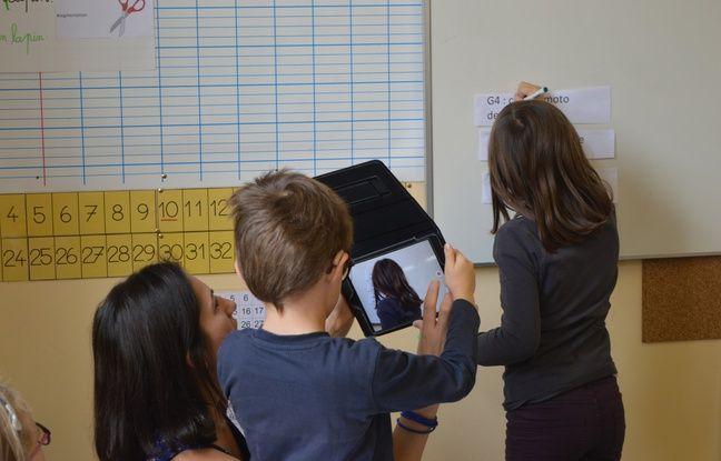 Pour les CP, l'utilisation de la vidéo permet de verbaliser les erreurs réalisées par la première classe, pour mieux leur envoyer.