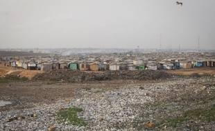 Le quartier Old Fadama, le plus pauvre d'Accra, au Ghana