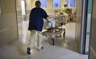 Le service d'urgences de l'hôpital Bichat, à Paris.