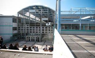 Le Lycée professionel Diderot de Marseille, le 10 mars 2011.
