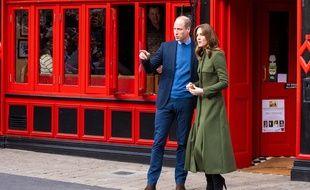 Le prince William et son épouse, Catherine, duchesse de Cambridge