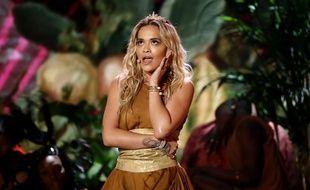 Rita Ora intervient sur l'émission musicale