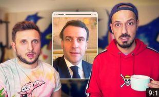 Les Youtubeurs Mcfly et Carlito feront une vidéo de prévention sur les gestes barrières à la demande d'Emmanuel Macron