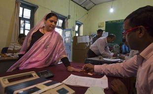 Un vote en Inde
