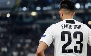 Emre Can n'évoluera pas en C1 cette saison avec la Juventus