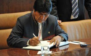 Le président bolivien Evo Morales a annoncé mercredi qu'il n'avait pas pu voir son homologue vénézuélien Hugo Chavez à Caracas, où il a été admis dans un hôpital militaire après son retour surprise de Cuba à l'issue de plus de deux mois d'hospitalisation.