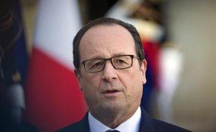 Le président français François Hollande le 31 octobre 2014 à l'Elysée, à Paris