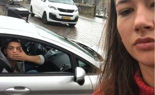 Noa Jansma, une étudiante néerlandaise, a pris des selfies avec tous les hommes qui l'ont harcelée dans la rue.