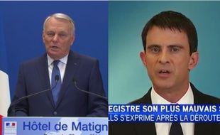 Jean-Marc Ayrault et Manuel Valls utilisent les mêmes éléments de langage
