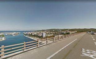Le viaduc de Martigues.