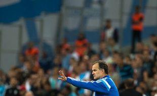 Marcelo Bielsa au Stade Vélodrome, le 29 août 2014