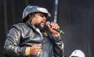 Victor Willis des « Village People » lors du Riot Fest Music Festival à Chicago le 15 septembre 2019.