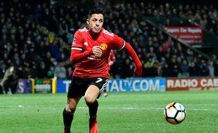 Alexis Sanchez est aujourd'hui un joueur de Manchester United.