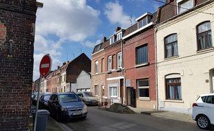 Une des 17 maisons à un euros vendues à Roubaix.