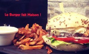 Un sandwich de chez Art Burger, à Montpellier.