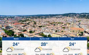 Météo Aix-en-Provence: Prévisions du vendredi 16 août 2019