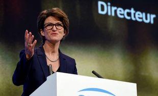 Isabelle Kocher, le 17 mai 2019 à Paris.
