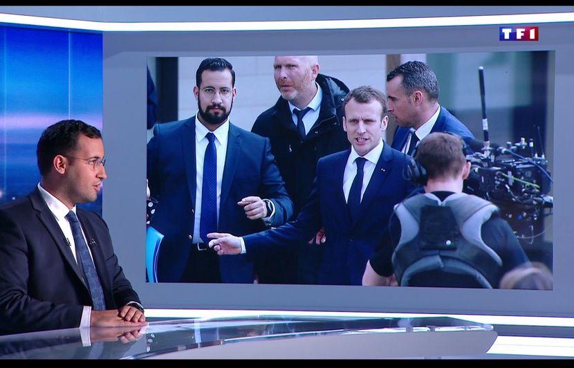 """Résultat de recherche d'images pour """"Benalla à TF1"""""""