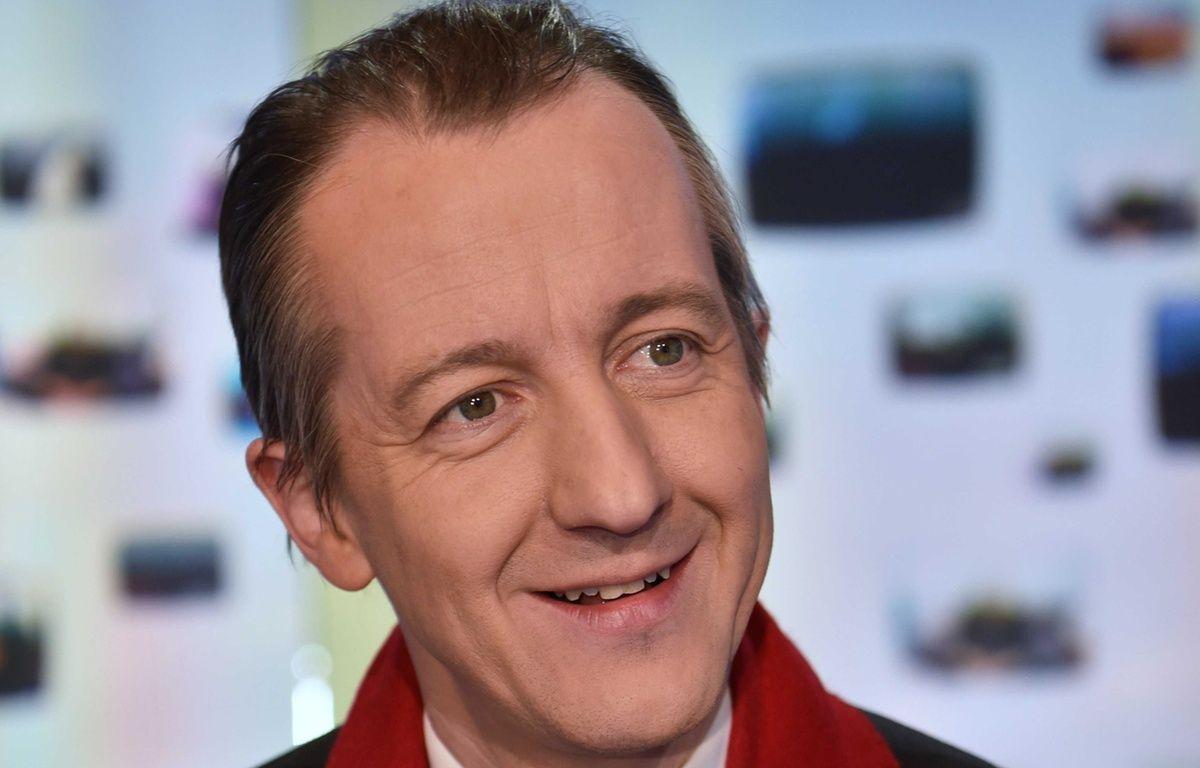 L'éditorialiste Christophe Barbier. – IBO/SIPA