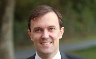 Photo non datée de François Verdier, secrétaire national du PS et conseiller municipal à Châteaudun
