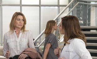Ellen Pompeo et Caterina Scorsone dans la saison 15 de «Grey's Anatomy».