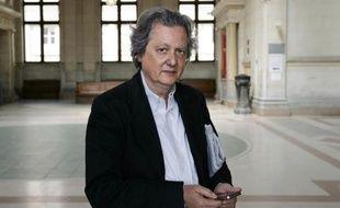 Le président du site d'information Rue89, Pierre Haski en 2011 à Paris