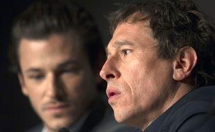 Bertrand Bonello (à dr.) et Gaspard Ulliel