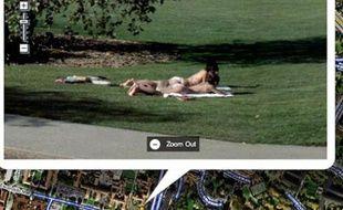 Un cliché trouvé sur Google Street View.