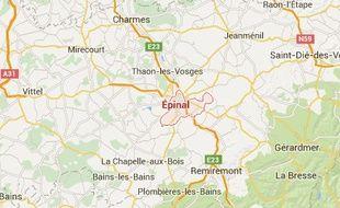 Epinal dans les Vosges
